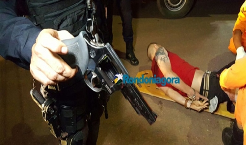 Bandido sequestra casal que namorava perto do aeroporto de Porto Velho, mas é preso após trocar tiros com a PM
