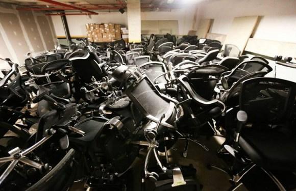 Em plena crise, Câmara Legislativa vai trocar 340 cadeiras
