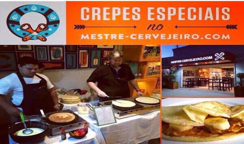 Deguste do autêntico Chopp Erdinger e Paulistânia com alguns crepes como aperitivo e ainda concorra a um Panetone Fasano