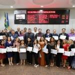 Sessão Solene na ALE em homenagem aos datiloscopistas de Rondônia