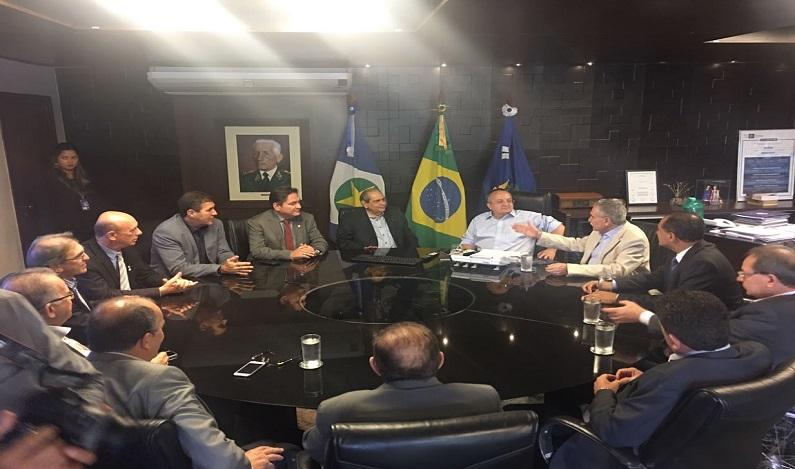 Presidentes de Federações do Comércio são recebidos em audiência pelo Governo do Mato Grosso
