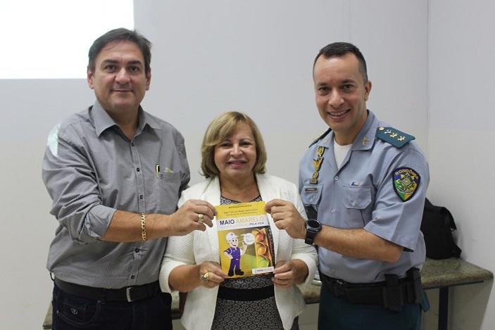 Fecomércio-RO, Companhia de Trânsito e FCDL/CDL serão parceiros do Maio Amarelo