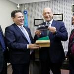 Maurão de Carvalho mostra potencialidades de Rondônia ao cônsul da Itália