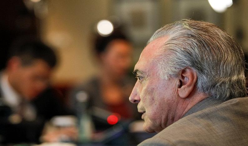 'Não haverá recuo', diz Temer sobre reformas