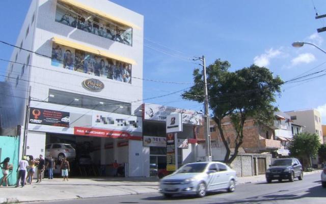 Criminoso se passou por cliente para conseguir entrar na academia (Foto: Reprodução/TV Bahia)