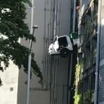Motorista morre ao cair de 3º andar do estacionamento de shopping em João Pessoa