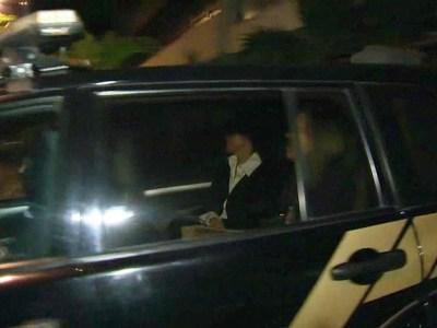 Adriana Ancelmo e Sérgio Cabral são levados para prestar depoimento em Curitiba