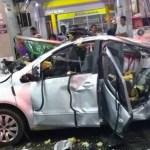 Mulher morre e outros três são feridos em explosão de carro no Rio; vídeo