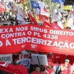 Centrais sindicais prometem greve geral na sexta-feira (28/4)