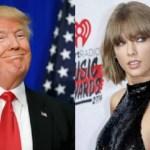 Vídeo de Trump ouvindo 'Blank Space', da cantora Taylor Swift, faz sucesso na internet