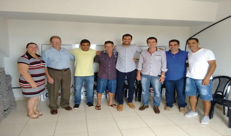 Expedito Netto anuncia destinação de recursos durante visita a Pimenta Bueno e Espigão do Oeste