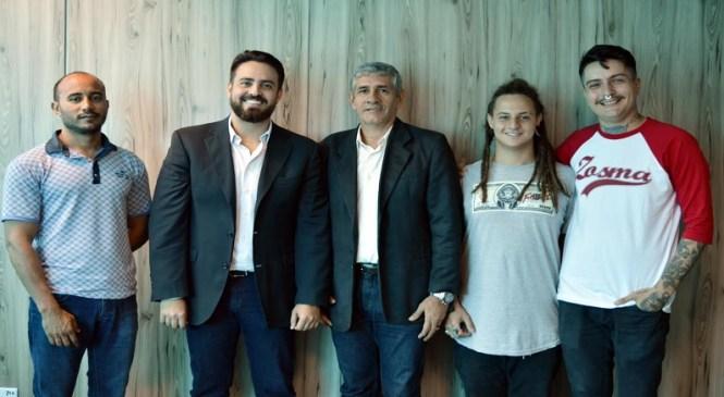 """Léo Moraes apoia Projeto """"Paredão Cultural"""" da Sejucel"""