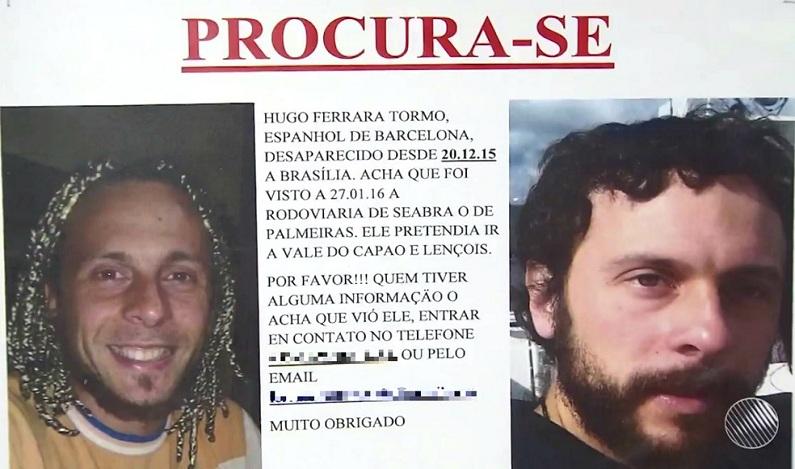 Restos mortais são encontrados na Bahia e bombeiros acreditam que sejam de turista espanhol desaparecido desde 2015