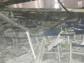 Teto de faculdade desaba e deixa alunos feridos em Fortaleza (CE)