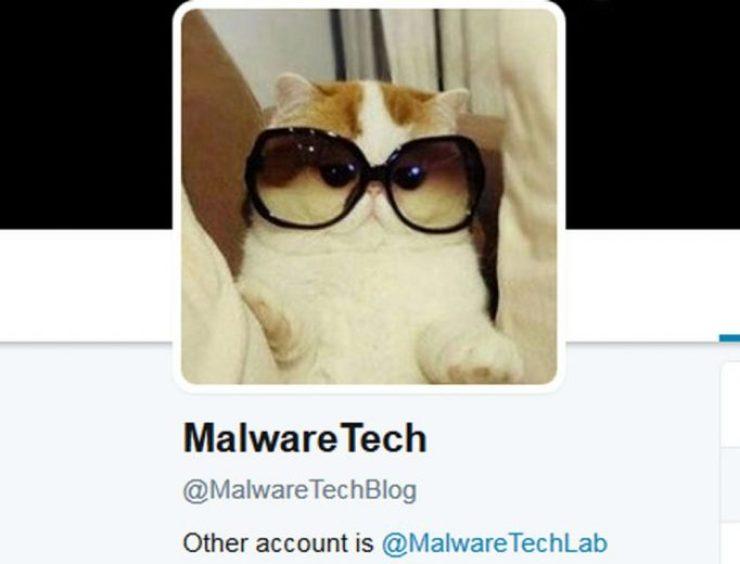 Perfil no Twitter de MalwareTech (Foto: Reprodução)