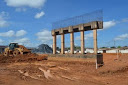 Após cinco anos parada, obra de viaduto é retomada em Porto Velho