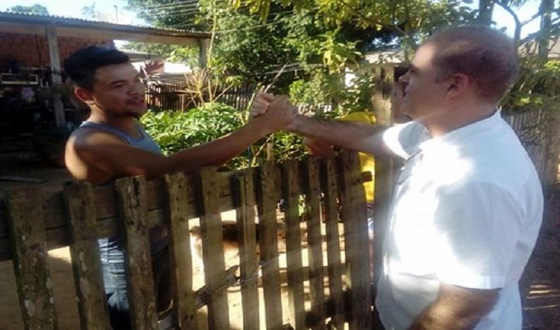 Vereador Alan Queiroz anuncia conclusão das obras na rua Bom Jesus, no Caladinho