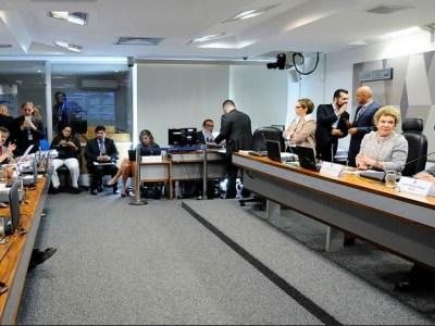 Após 4 horas, Paim encerra voto contra reforma trabalhista