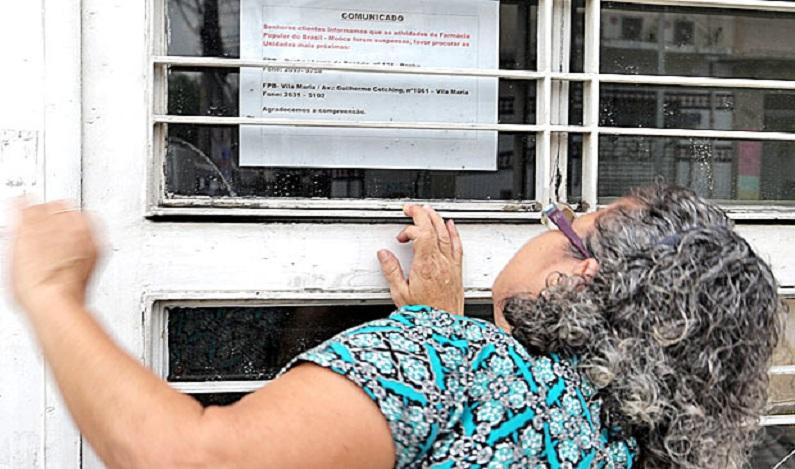 Governo quer fechar as unidades do Farmácia Popular até agosto