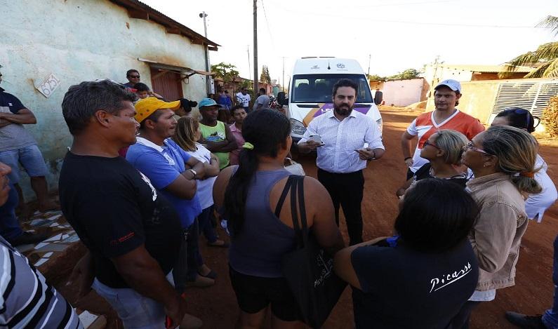 Deputado Léo Moraes anuncia melhorias para os bairros Planalto I e II, por meio do DER