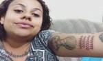 Jovem faz tatuagem da pegadinha 'Gemidão do Whatsapp' no braço