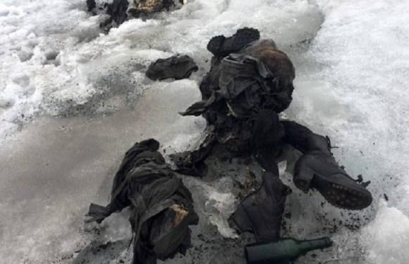 Corpos de casal são encontrados congelados após 75 anos, na Suíça