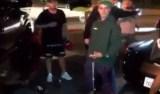 Justin Bieber atropela fotógrafo ao sair de igreja em Los Angeles