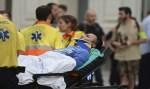 Colisão de trem deixa mais de 50 feridos no centro de Barcelona