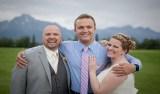No casamento, noiva conhece homem que recebeu coração de seu filho