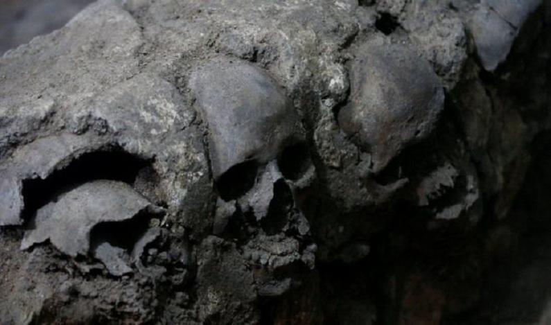 A inesperada descoberta sobre a 'torre dos crânios' dos astecas no México