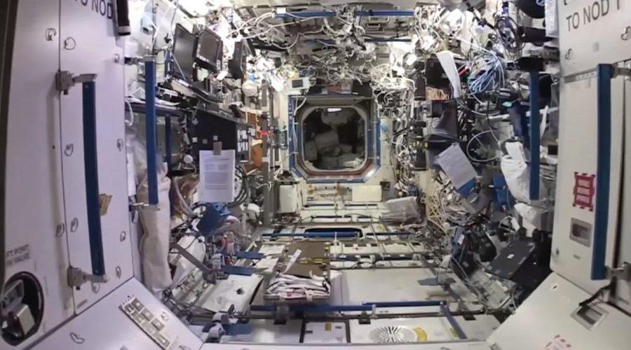 Explore a Estação Espacial Internacional no Street View