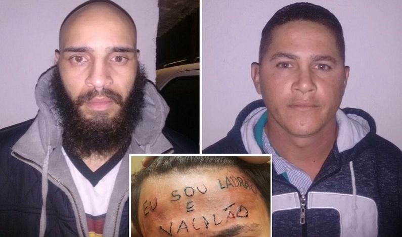 Justiça marca audiência de dupla que tatuou testa de adolescente