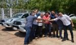 Cleiton Roque participa de entrega de veículos a agências da Idaron e destaca parceria da ALE