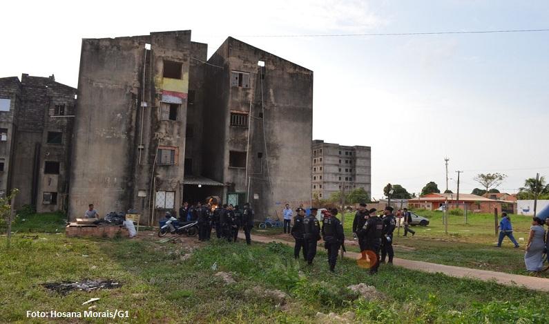 Prefeitura cumpre desocupação do Conjunto Cuniã em Porto Velho e retira moradores