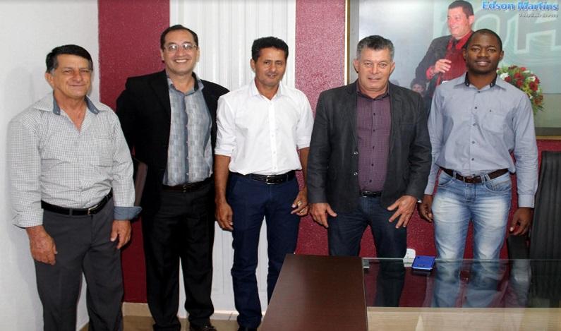 Deputado Edson Martins garante recursos para agricultura de São Feliped'Oeste