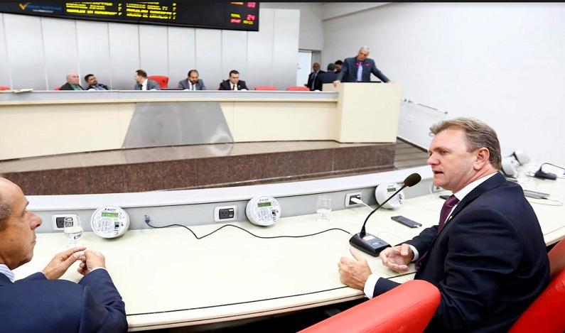 Luizinho Goebel pede recuperação da RO 387