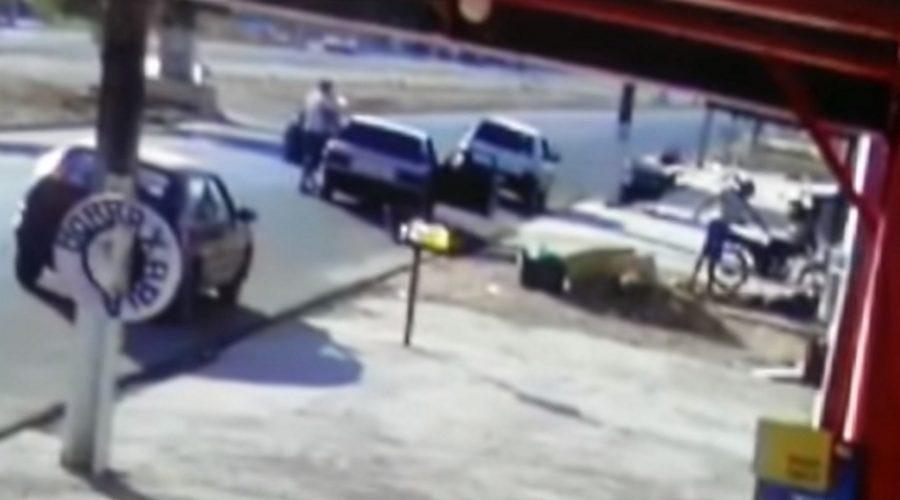 Vídeo mostra momento em que filho de cantor sertanejo é assassinado a tiros; veja