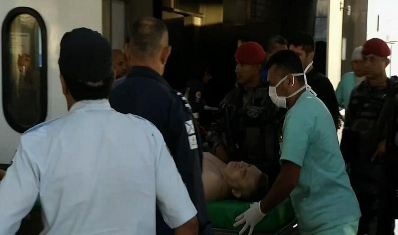 Alemão, mentor do furto ao Banco Central, é baleado durante tentativa de fuga de presídio no Ceará