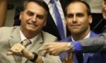 A atuação dos Bolsonaro na votação da denúncia contra Temer