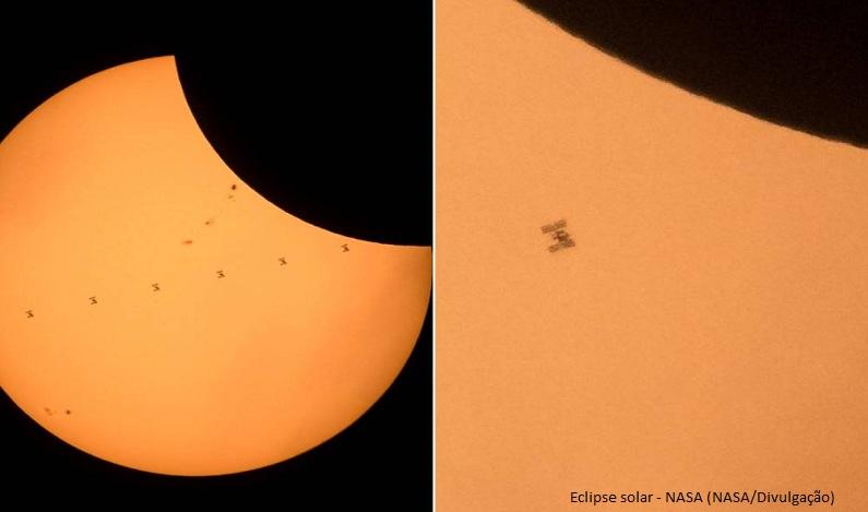 Detalhe inesperado aparece em foto do eclipse