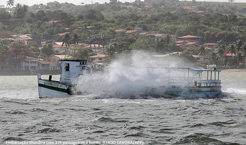MP da Bahia alerta desde 2007 sobre riscos em barcos