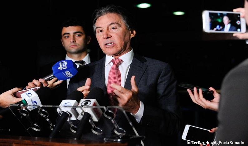 Congresso não analisará redução do salário mínimo, afirma Eunício Oliveira
