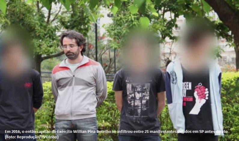 Justiça torna réus 18 manifestantes presos com militar infiltrado em ato contra Temer em 2016 em SP
