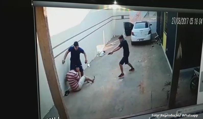Empresário é baleado com 6 tiros ao tentar impedir assalto em RO; vídeo