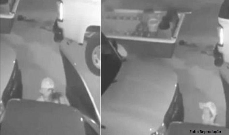 Ladrão 'pausa' furto de trailer para fazer sexo com cúmplice