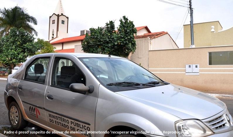 Padre é preso suspeito de abusar de adolescente e jovem prometendo 'recuperar virgindade', em Goiás