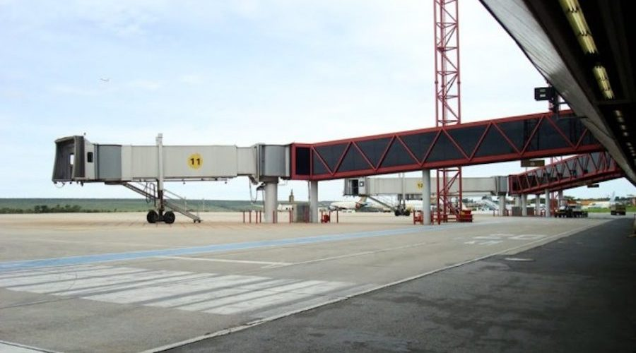 Infraero dá início à instalação dos elos no aeroporto de Porto Velho