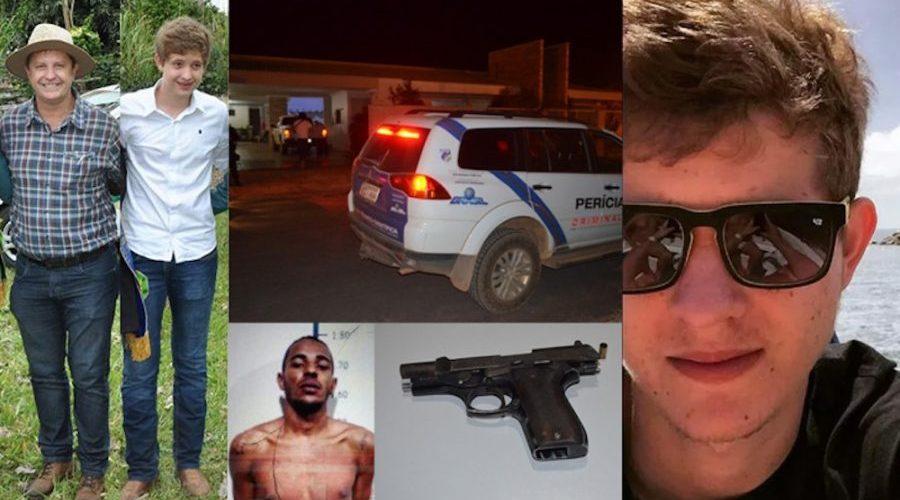 Ex-prefeito José Rover é baleado na cabeça e filho morre em assalto