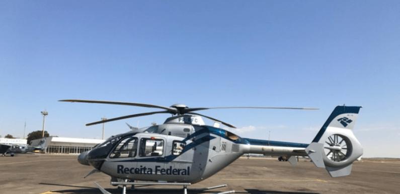 Receita Federal inova e usa helicóptero em operação contra fraudes em Goiânia e Anápolis