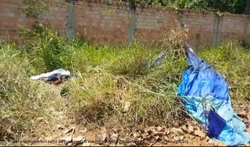 Tenente do Exército morre após saltar de paraquedas em Porto Velho